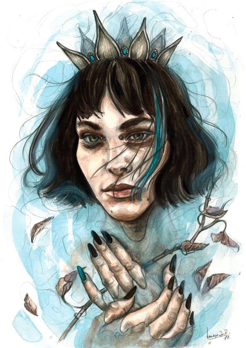 Reina de un mar de lágrimas 0