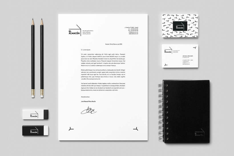El Almacén: Branding & Advertising Design 5