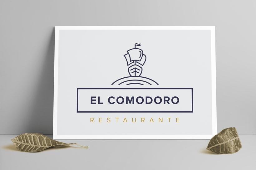 El Comodoro: Naming, Branding, Diseño web y Diseño Editorial 0
