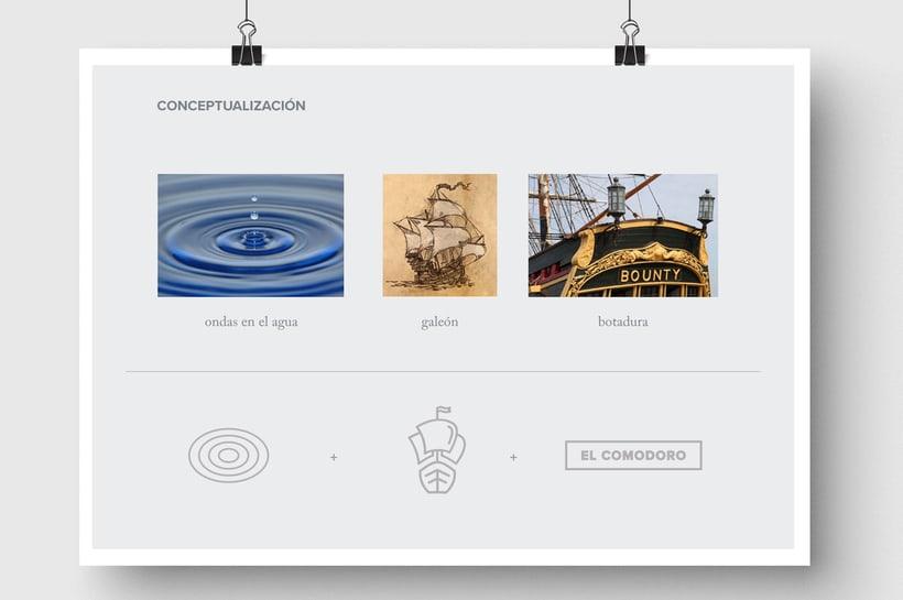 El Comodoro: Naming, Branding, Diseño web y Diseño Editorial 1