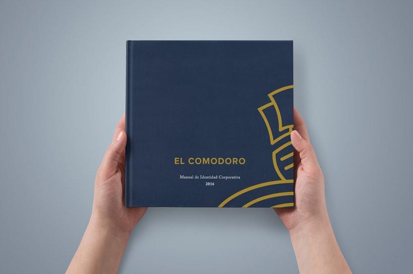 El Comodoro: Naming, Branding, Diseño web y Diseño Editorial 4