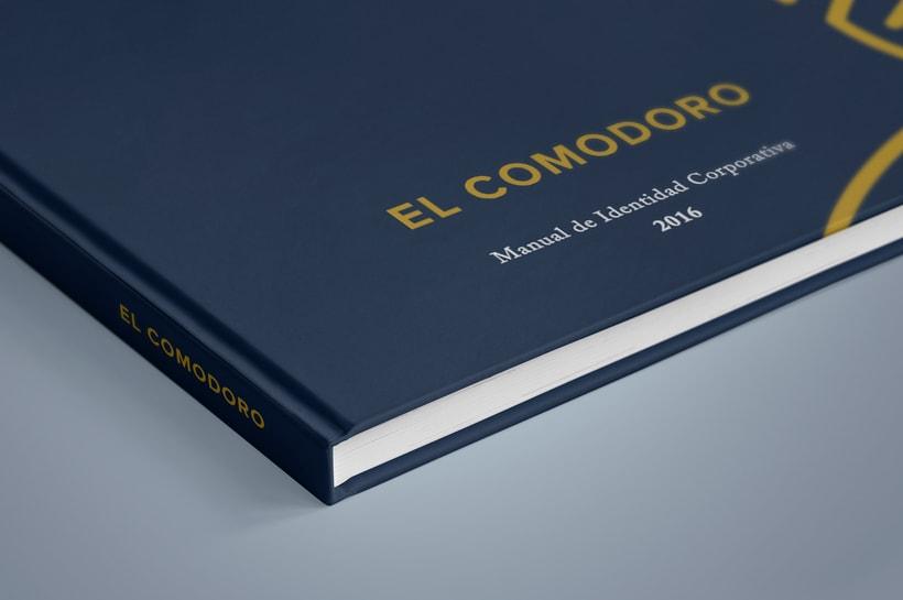 El Comodoro: Naming, Branding, Diseño web y Diseño Editorial 3