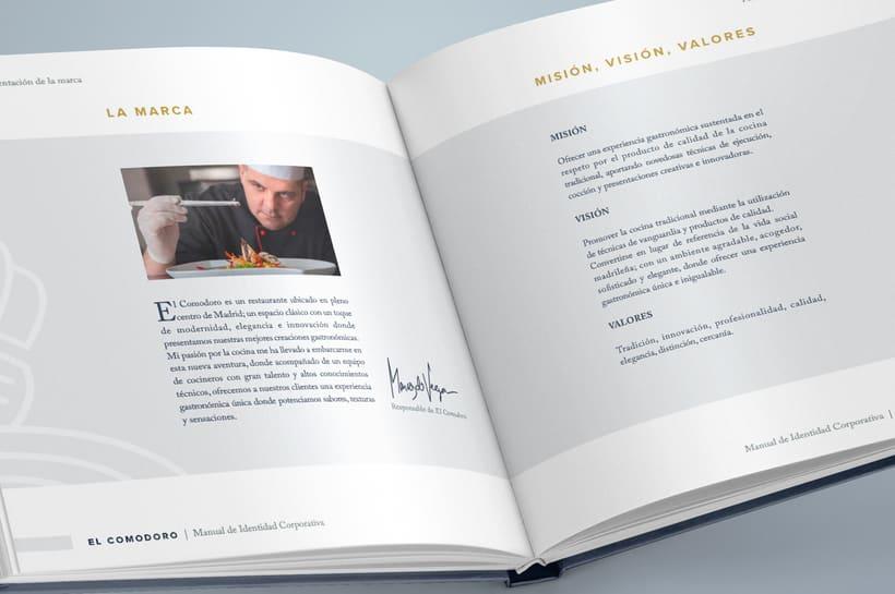 El Comodoro: Naming, Branding, Diseño web y Diseño Editorial 7