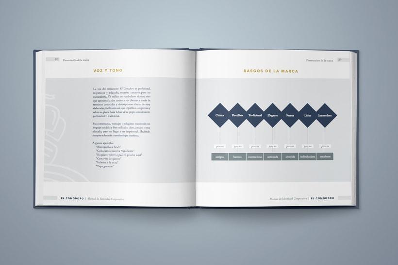 El Comodoro: Naming, Branding, Diseño web y Diseño Editorial 8