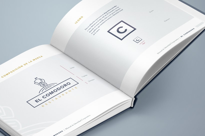 El Comodoro: Naming, Branding, Diseño web y Diseño Editorial 10