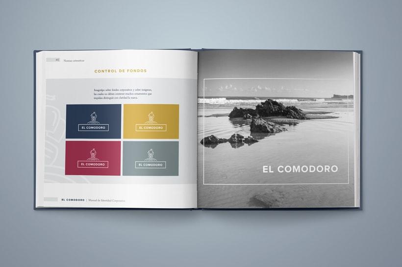 El Comodoro: Naming, Branding, Diseño web y Diseño Editorial 11