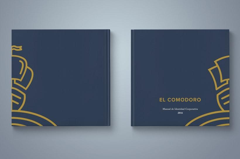 El Comodoro: Naming, Branding, Diseño web y Diseño Editorial 12