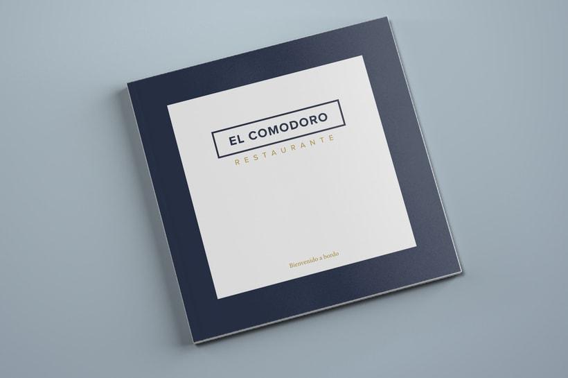 El Comodoro: Naming, Branding, Diseño web y Diseño Editorial 14