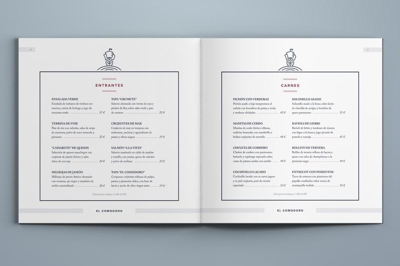El Comodoro: Naming, Branding, Diseño web y Diseño Editorial 16