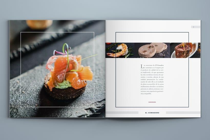 El Comodoro: Naming, Branding, Diseño web y Diseño Editorial 15