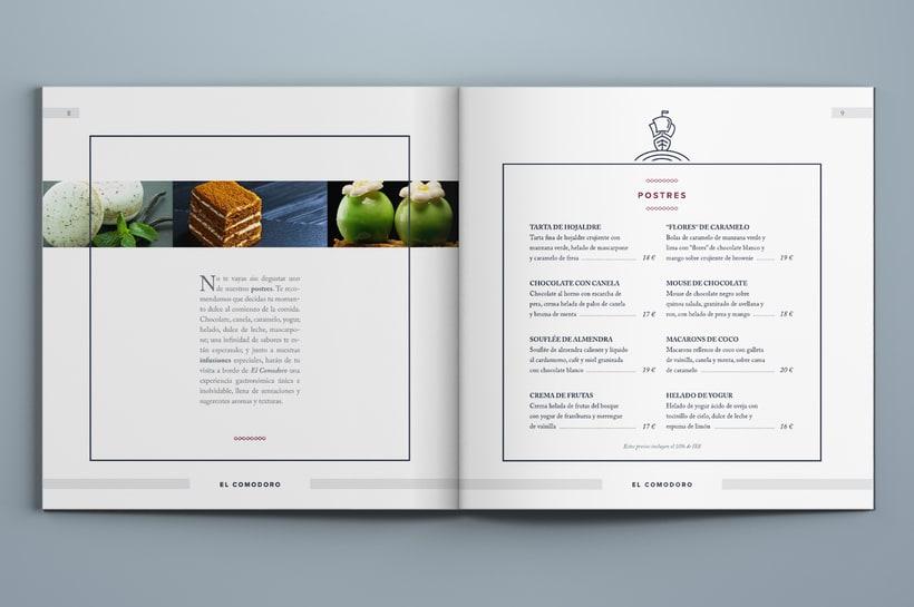 El Comodoro: Naming, Branding, Diseño web y Diseño Editorial 18