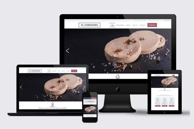 El Comodoro: Naming, Branding, Diseño web y Diseño Editorial 22