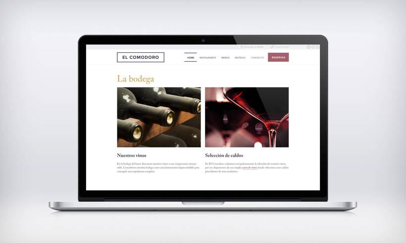 El Comodoro: Naming, Branding, Diseño web y Diseño Editorial 26