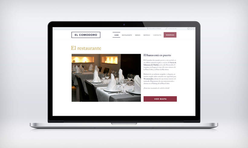 El Comodoro: Naming, Branding, Diseño web y Diseño Editorial 25