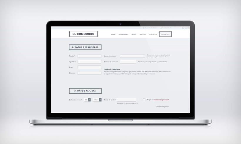 El Comodoro: Naming, Branding, Diseño web y Diseño Editorial 27