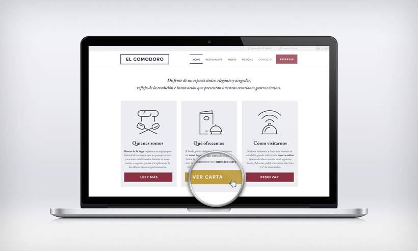 El Comodoro: Naming, Branding, Diseño web y Diseño Editorial 24