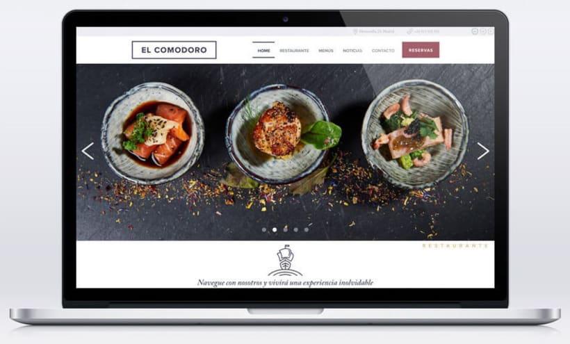 El Comodoro: Naming, Branding, Diseño web y Diseño Editorial 23