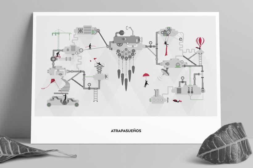 Atrapasueños: Ilustración animada 0