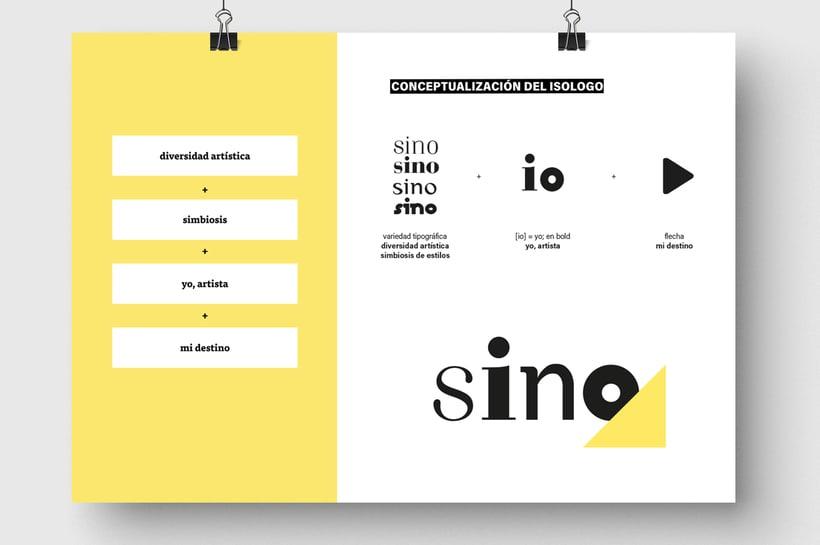 Sino Festival: Dirección de arte, naming, branding, diseño editorial y diseño web 2