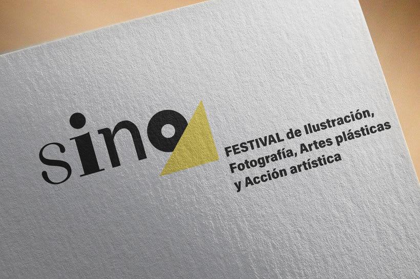 Sino Festival: Dirección de arte, naming, branding, diseño editorial y diseño web 0