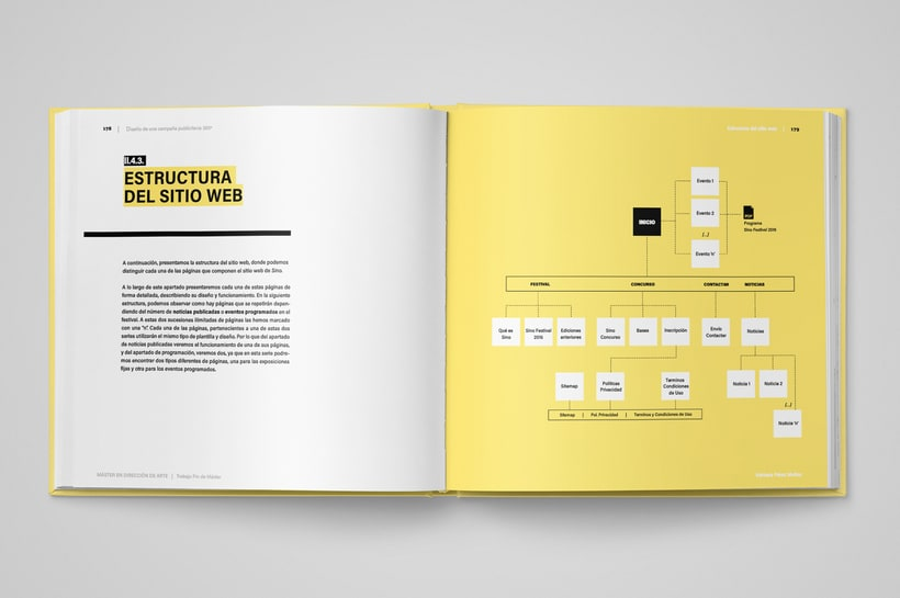 Sino Festival: Dirección de arte, naming, branding, diseño editorial y diseño web 10