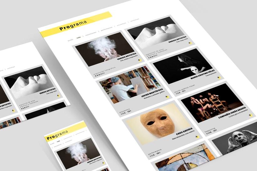 Sino Festival: Dirección de arte, naming, branding, diseño editorial y diseño web 12