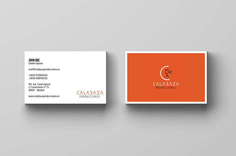 Calabaza Producciones: Naming, Branding & Corporate Identity Manual  6