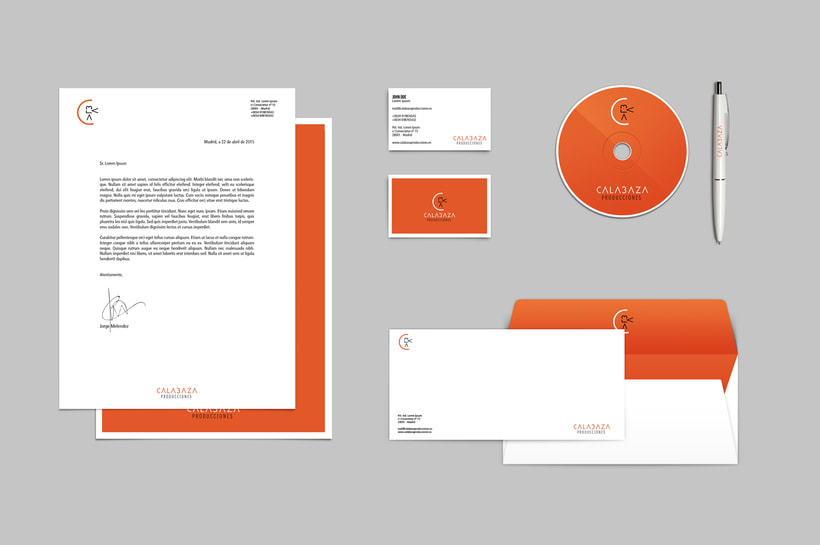 Calabaza Producciones: Naming, Branding & Corporate Identity Manual  4