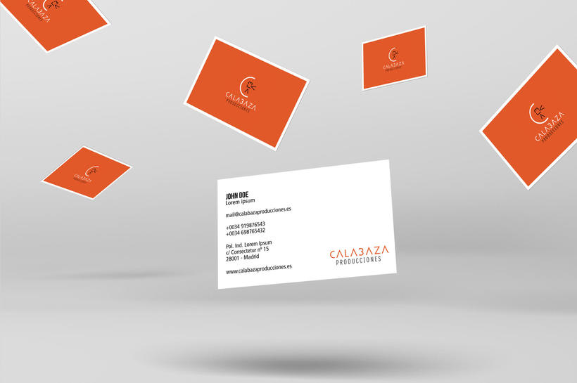 Calabaza Producciones: Naming, Branding & Corporate Identity Manual  7