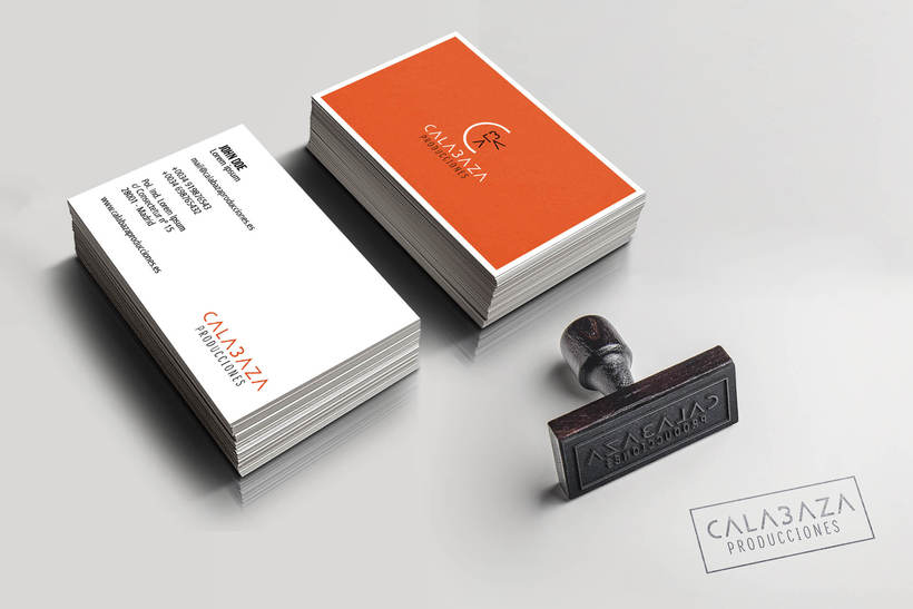 Calabaza Producciones: Naming, Branding & Corporate Identity Manual  8