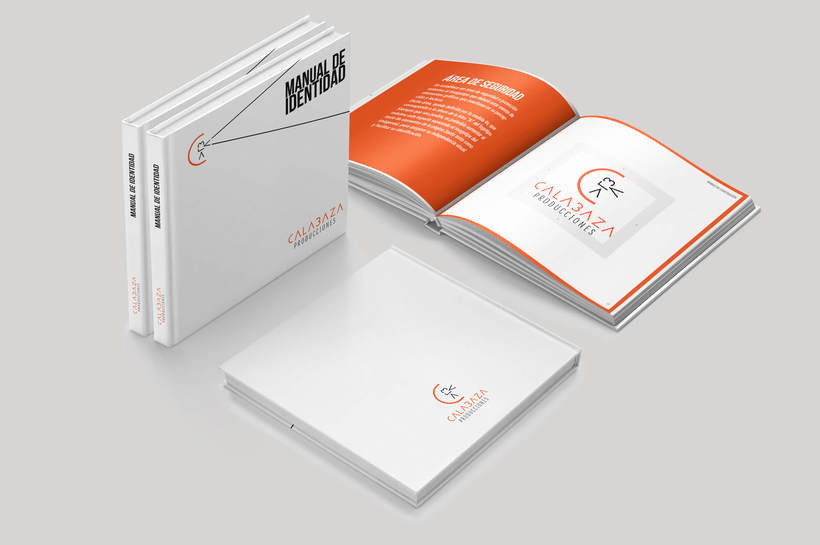 Calabaza Producciones: Naming, Branding & Corporate Identity Manual  10