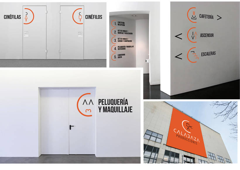 Calabaza Producciones: Naming, Branding & Corporate Identity Manual  12
