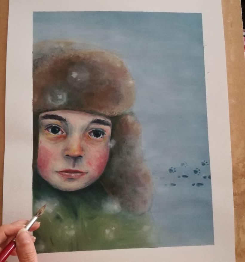 Mi Proyecto del curso: Introducción a la ilustración al óleo 2