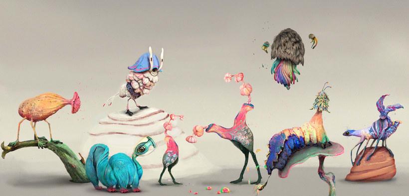 El bestiario imaginario del Waking Life Festival 5