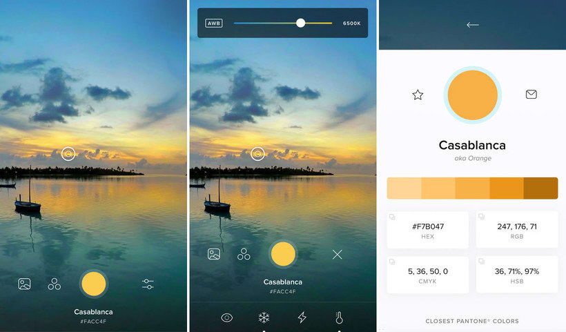 'Cone', una app para capturar los colores de la vida real 3