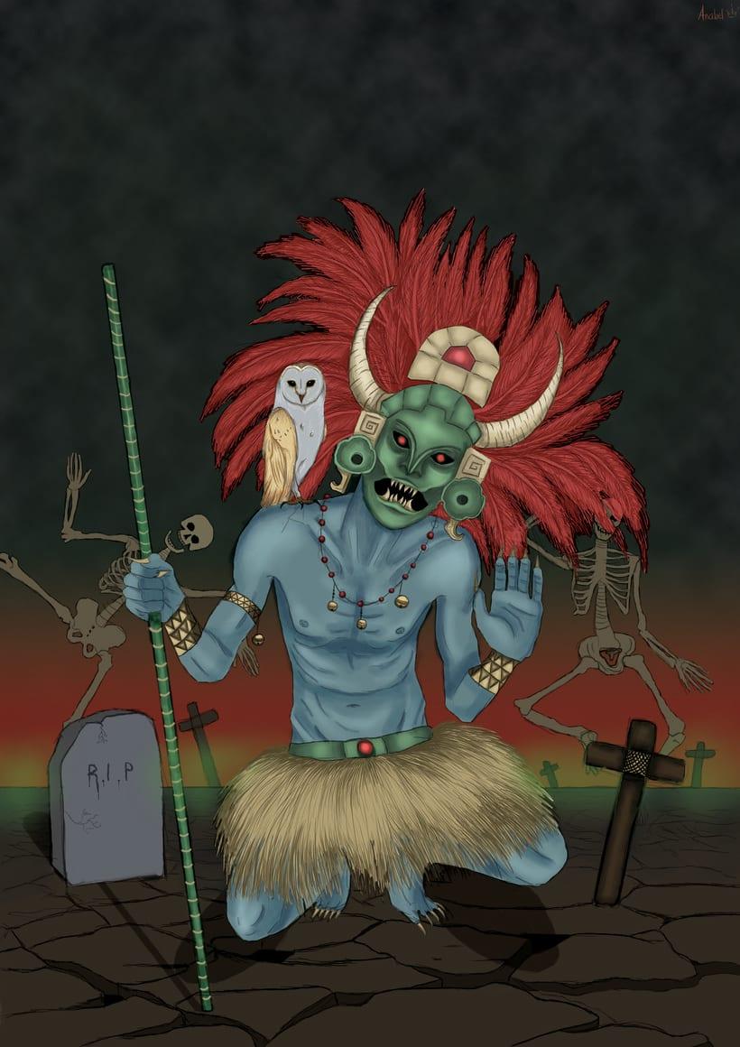 Kizin, dios del inframundo -1