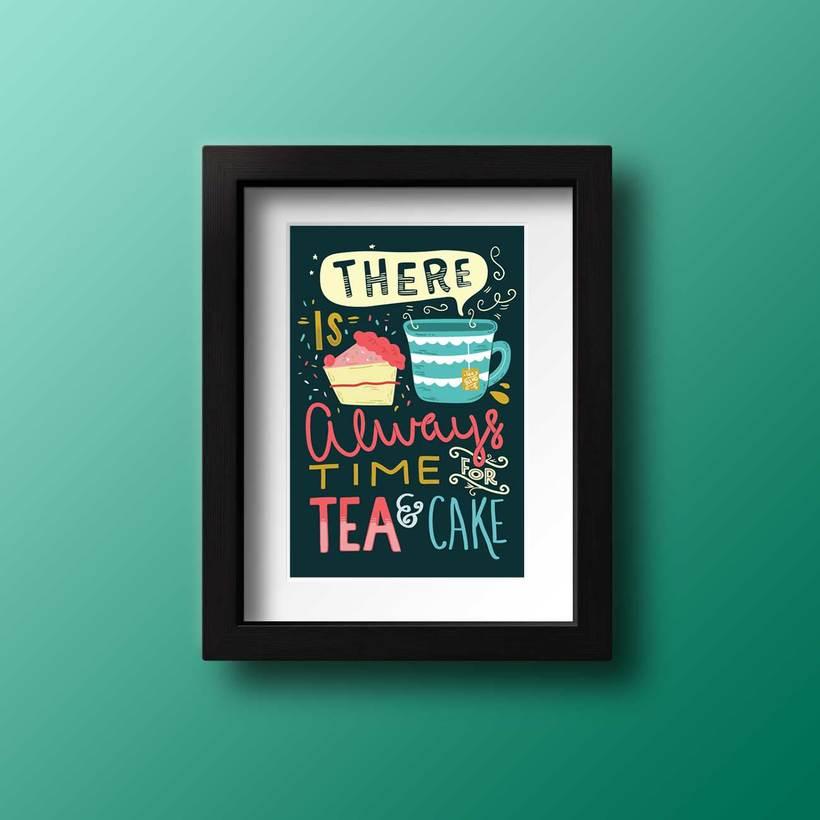 Ilustración Tea&Cake -1