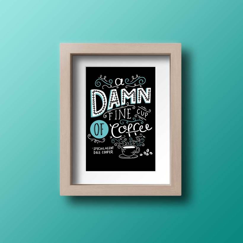 Ilustración Cup of Coffee -1