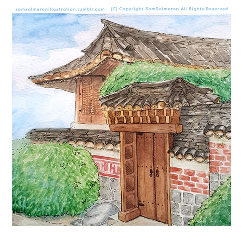 Corea del Sur - Ilustración  0
