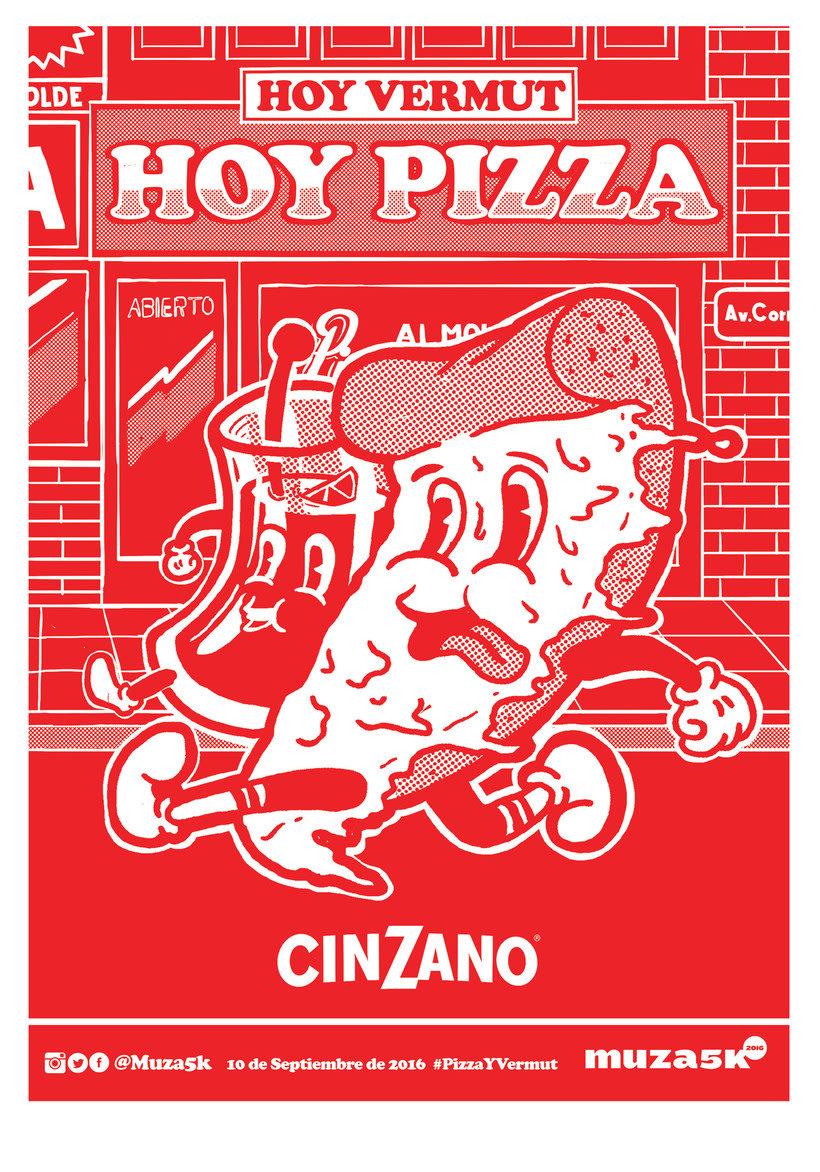 10 diseños con la pizza como protagonista 4