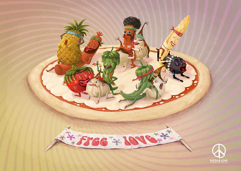 10 diseños con la pizza como protagonista 6