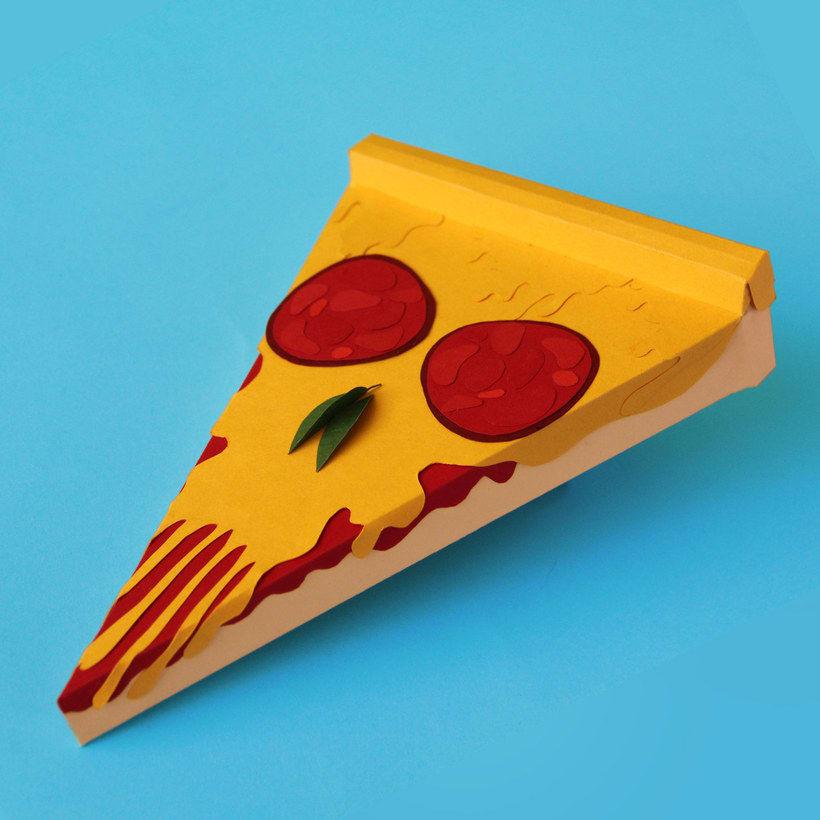 10 diseños con la pizza como protagonista 20