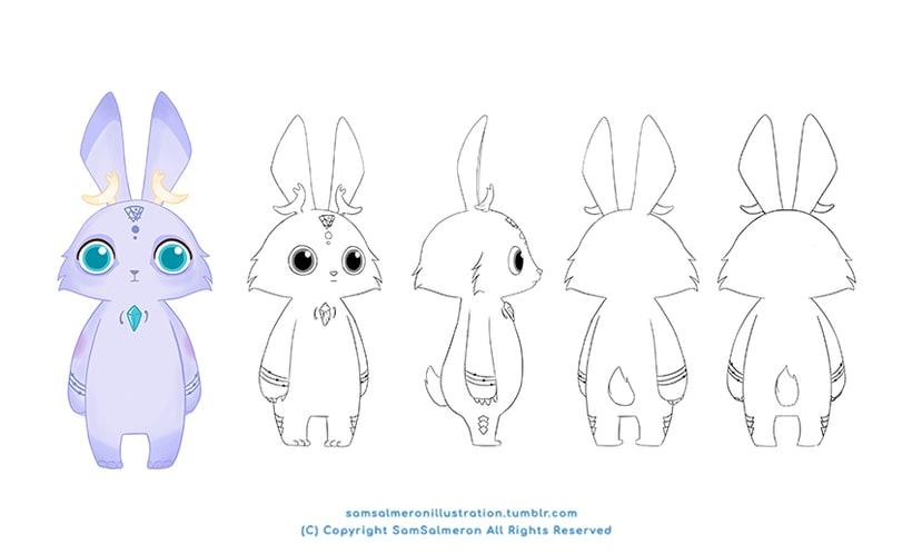 Desarrollo Visual / Diseño de Personajes / Ilustración 2