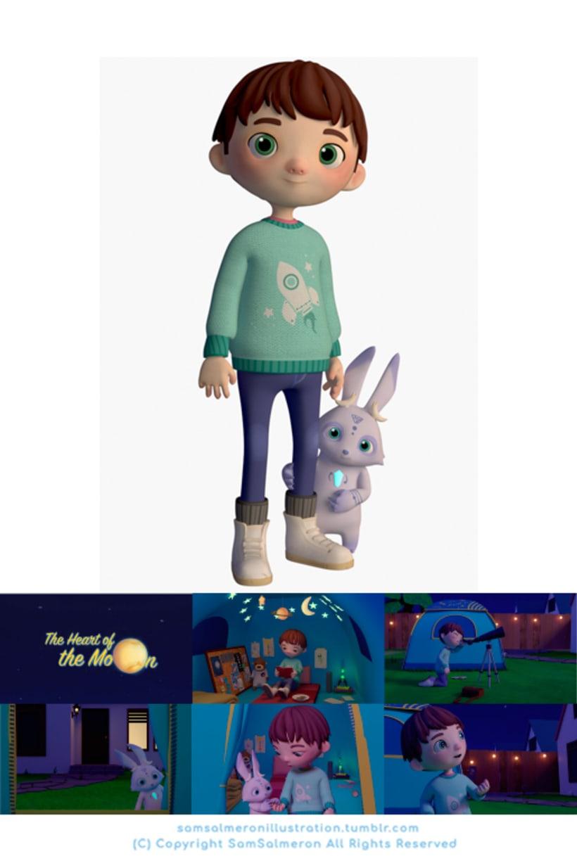 Desarrollo Visual / Diseño de Personajes / Ilustración 5