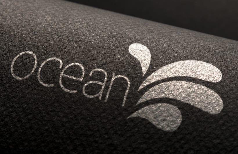 Ocean, estudio del logo  -1