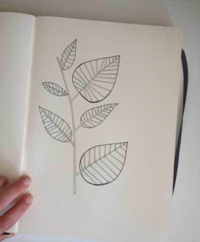Mi Proyecto del curso:  Proceso de Diseño de estampados textiles. 3