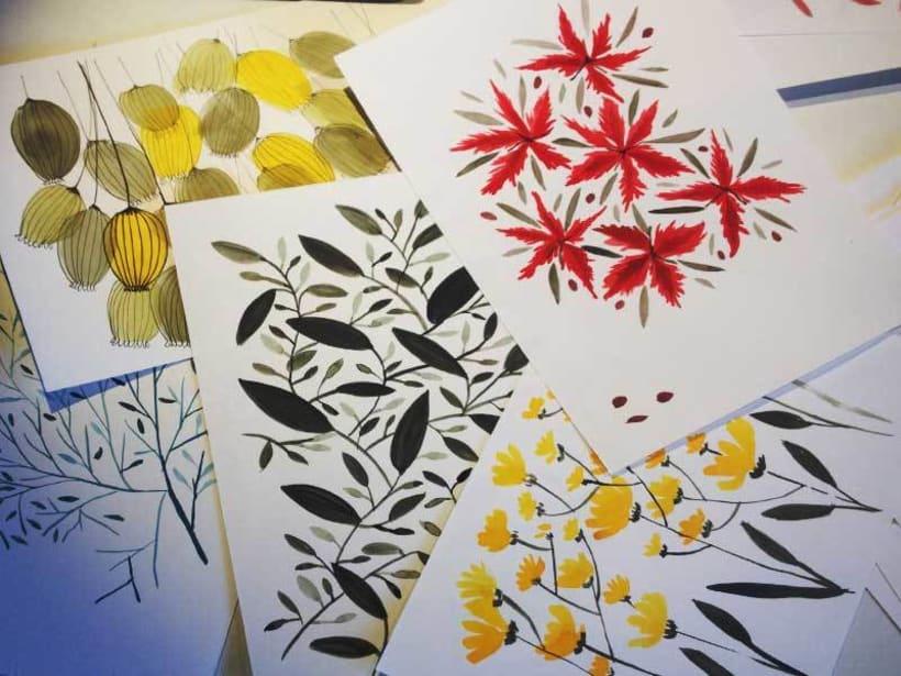 Mi Proyecto del curso:  Proceso de Diseño de estampados textiles. 1