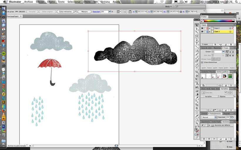Mi Proyecto del curso:  Proceso de Diseño de estampados textiles. 8