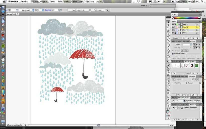 Mi Proyecto del curso:  Proceso de Diseño de estampados textiles. 10