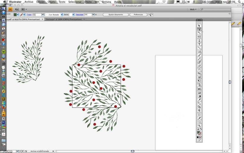 Mi Proyecto del curso:  Proceso de Diseño de estampados textiles. 17